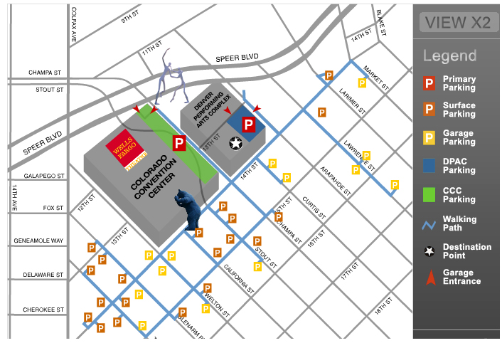 Parking Options Map